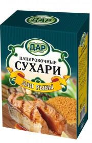 Панировочные сухари для рыбы 400г